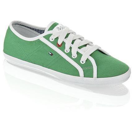 Victoria Sneaker Tommy Hilfiger grün