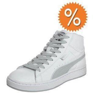 puma hohe sneaker weiss