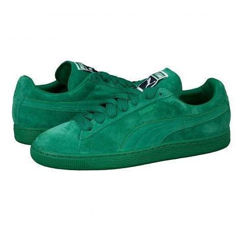 puma classic suede grün