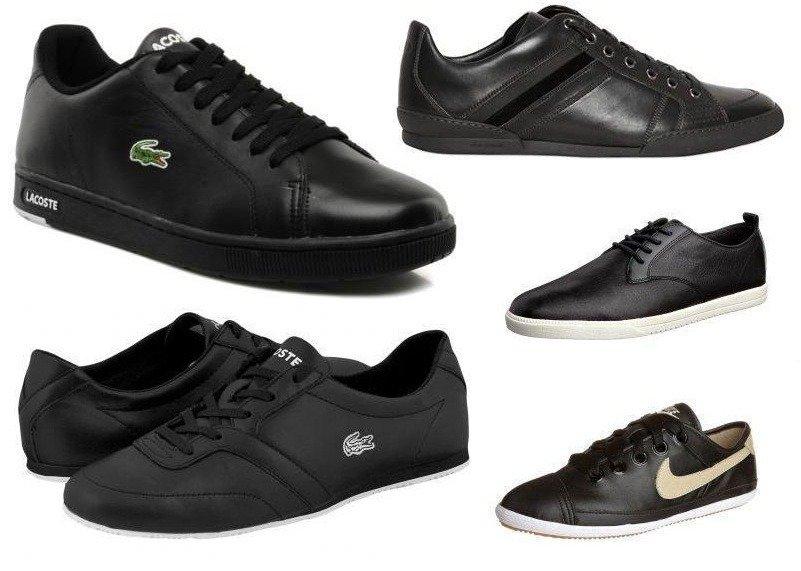 Schwarze Sneakers - fresh oder zu konservativ?