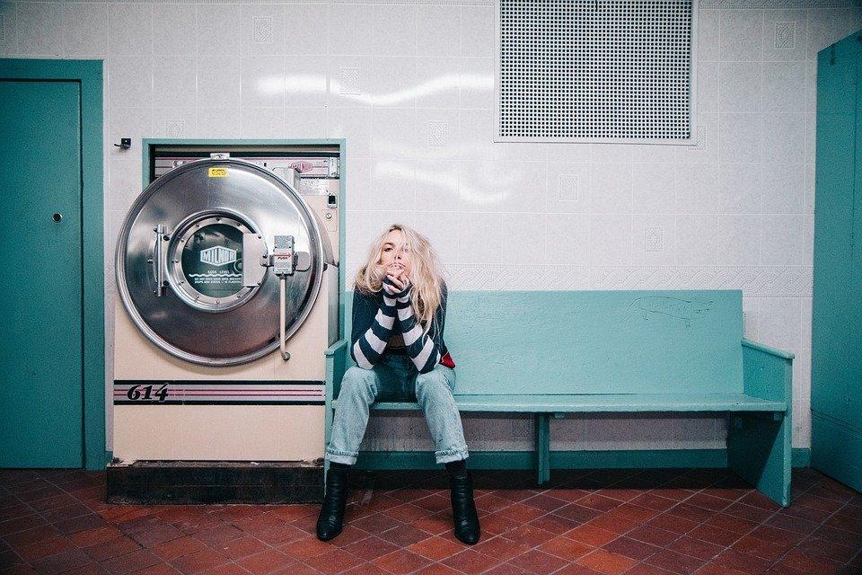 Turnschuhe in der Waschmaschine waschen